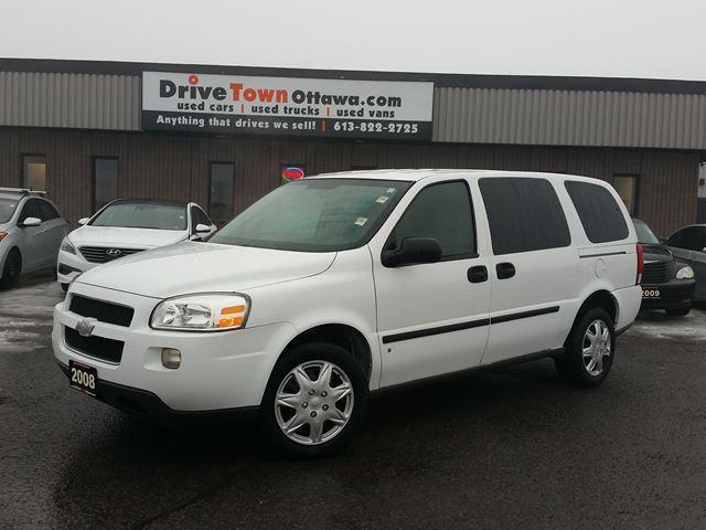 2008 Chevrolet Uplander **COMMERCIAL CARGO VAN**