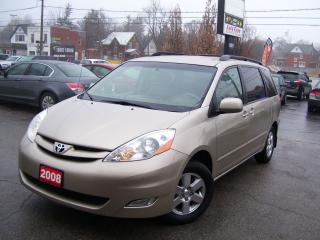 Used 2008 Toyota Sienna LE, 8 Passengers, DVD, Alloys, Tinted for sale in Kitchener, ON