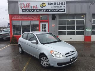 Used 2010 Hyundai Accent GL AUTO W/ CRUISE + A/C! for sale in London, ON