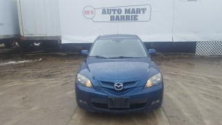 Used 2007 Mazda MAZDA3 GS for sale in Barrie, ON