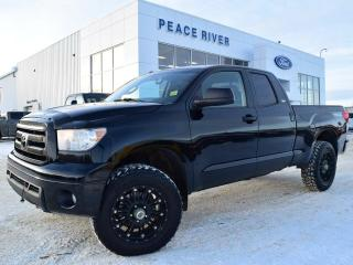 Used 2010 Toyota Tundra SR5 5.7L V8 4dr 4x4 Double Cab for sale in Peace River, AB