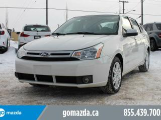 Used 2011 Ford Focus SEL POWER OPTIONS HEATED SEATS for sale in Edmonton, AB