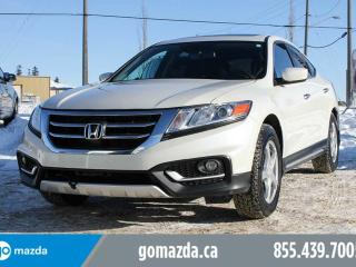 Used 2014 Honda Accord Crosstour EX-L AWD LEATHER SUNROOF 1 OWNER for sale in Edmonton, AB