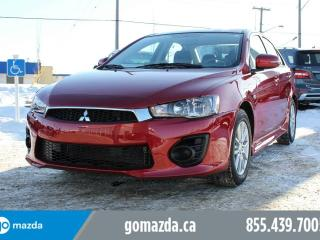 Used 2017 Mitsubishi Lancer ES AWC POWER OPTIONS 1 OWNER ACCIDENT FREE for sale in Edmonton, AB