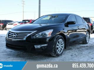 Used 2015 Nissan Altima 2.5 SV POWER OPTIONS BACK UP CAMERA ACCIDENT FREE for sale in Edmonton, AB