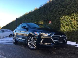 Used 2017 Hyundai Elantra GLS + SUNROOF + HEATED FT/RR SEATS + BLIND-SPOT MONITORING for sale in Surrey, BC