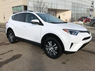 Used 2017 Toyota RAV4 LE/ALL WHEEL DRIVE/HEATED SEATS/BACK UP CAMERA for sale in Edmonton, AB