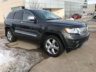 Used 2011 Jeep Grand Cherokee LIMITED/4 WHEEL DRIVE/HEATED AND COOLED SEATS/NAVIGATION/BACK UP CAMERA for sale in Edmonton, AB