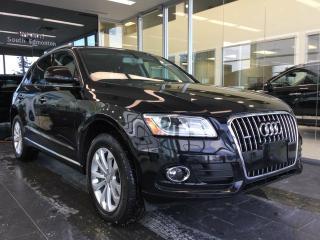 Used 2017 Audi Q5 2.0T PROGRESSIV, AWD, PANORMAIC SUNROOF for sale in Edmonton, AB