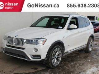 Used 2017 BMW X3 PANORAMIC ROOF, LEATHER SEATS, NAVIGATION for sale in Edmonton, AB