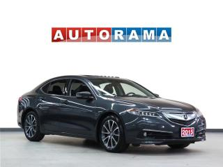 Used 2015 Acura TLX TECH PKG BACKUP CAM NAVIGATION AWD LEATHER SUNROOF for sale in North York, ON