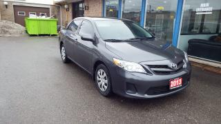 Used 2013 Toyota Corolla CE/NO ACCIDENT/SINGLE OWNER/ONTARIO VEHICLE/$9999 for sale in Brampton, ON