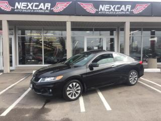 Used 2014 Honda Accord EX-L C0UPE AUT0 NAVI LEATHER SUNROOF 98K for sale in North York, ON