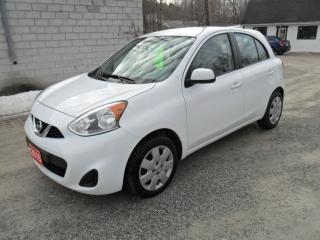 Used 2016 Nissan Micra SV for sale in Beaverton, ON