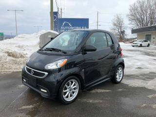 Used 2014 Smart fortwo PASSION ELECTRIQUE for sale in Chateau-richer, QC