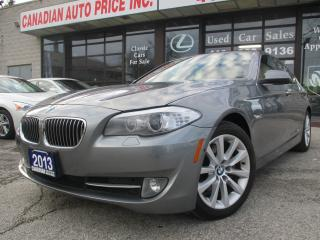Used 2013 BMW 528 xDrive-LETHER-SUNROOF-360 CAMERA-BLUETOOTH-HEATED for sale in Scarborough, ON