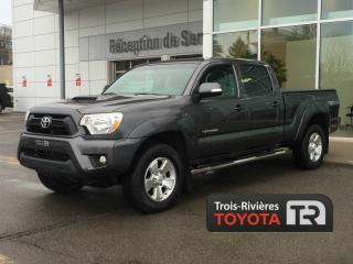 Used 2015 Toyota Tacoma TRD Sport - DoubleCab - V6 4x4 - Mags - for sale in Trois-rivieres, QC