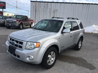 Used 2008 Ford Escape Limited for sale in Orillia, ON
