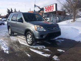 Used 2005 Honda CR-V EXL,AWD,AUTO,SAFETY+3YEARS WARRANTY INCLUDED for sale in North York, ON