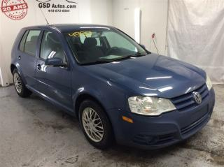 Used 2010 Volkswagen City Golf 2.0L for sale in L'ancienne-lorette, QC