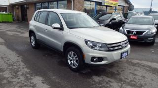 Used 2014 Volkswagen Tiguan Trendline/NO ACCIDENT/LOW MILAGE/IMMACULATE$14999 for sale in Brampton, ON