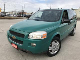 Used 2009 Chevrolet Uplander Only 59000 km, 3/Y warranty available for sale in North York, ON