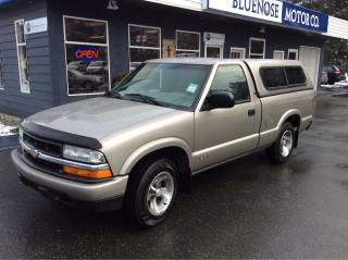 Used 2002 Chevrolet S-10 Reg.Cab for sale in Parksville, BC