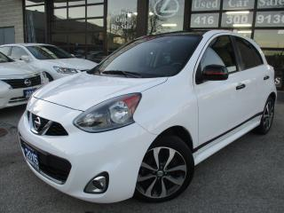 Used 2015 Nissan Micra SR-BACK UP CAMERA-BLUETOOTH-WARRANTY for sale in Scarborough, ON