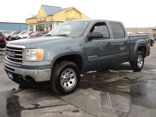 Used 2012 GMC Sierra 1500 SLE CrewCab 4X4 5.3L 5.5ft Box for sale in Brantford, ON