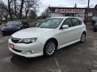 Used 2009 Subaru Impreza 2.5i w/Sport Pkg/5 Speed/Winter Tires/Certified for sale in Scarborough, ON