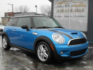 Used 2009 MINI Cooper S ***AUTOMATIQUE/MAGS/ MOTEUR TURBO for sale in Longueuil, QC