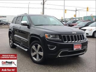 Used 2014 Jeep Grand Cherokee LIMITED**5.7L HEMI**POWER SUNROOF** for sale in Mississauga, ON