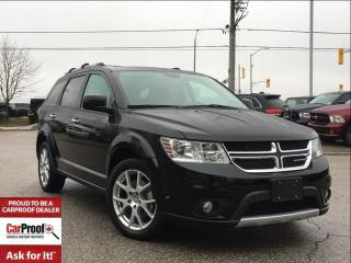 Used 2017 Dodge Journey GT**DVD**7 PASSENGER SEATING**POWER SUNROOF** for sale in Mississauga, ON