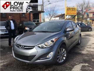 Used 2016 Hyundai Elantra Sunroof*Alloys*HtdSeats*Bluetooth*FullOpti for sale in York, ON