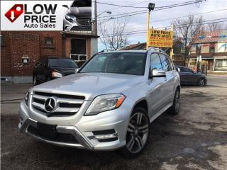Used 2014 Mercedes-Benz GLK-Class Navi*Camra*HtdSeats*AmbionLights&MWarr* for sale in York, ON
