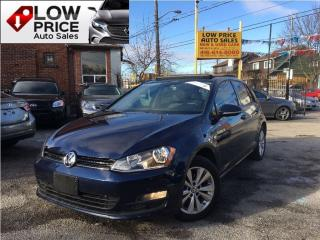 Used 2015 Volkswagen Golf TDI*HighLine*Leather*Sunroof*Aloys&Warranty* for sale in York, ON