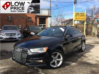 Used 2015 Audi A3 TDI*Leather*Sunroof*BIxenon*HtdSeats&Warranty* for sale in York, ON