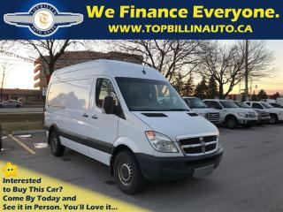Used 2008 Dodge Sprinter 2500 High Roof, Certified, Mint Body for sale in Concord, ON