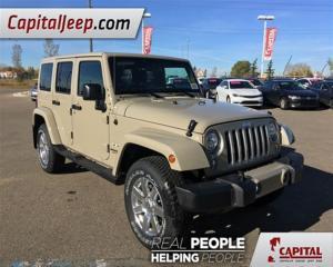 Used 2017 Jeep Wrangler Sahara for sale in Edmonton, AB