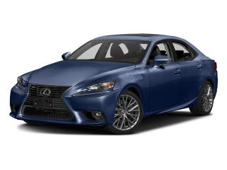 Used 2016 Lexus IS 300 AWD for sale in Mississauga, ON