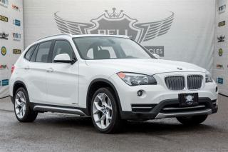 Used 2014 BMW X1 XDrive28i ~PANORAMIC ~PUSH START ~ LEATHER for sale in North York, ON