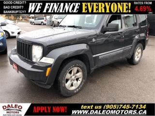 Used 2011 Jeep Liberty Sport | 4X4 | TEST DRIVE TODAY ~~ GREAT PRICE! for sale in Hamilton, ON