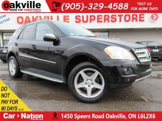 Used 2009 Mercedes-Benz ML-Class AWD | LEATHER | SUNROOF | DVD | NAVI | B/U CAM for sale in Oakville, ON