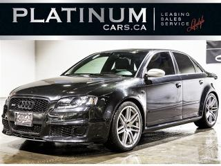 Used 2007 Audi RS4 4.2 V8 QUATTRO, NAVI, ALCANTARA, HEATED F/R SEATS for sale in North York, ON