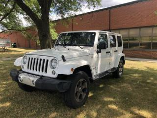Used 2016 Jeep Wrangler Unlimited Sahara, AWD, BLUETOOTH, UCONNECT, POWER for sale in Toronto, ON