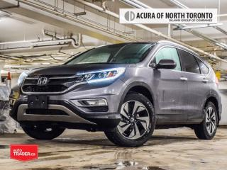 Used 2016 Honda CR-V Touring AWD Accident Free| Navigation| Bluetooth| for sale in Thornhill, ON