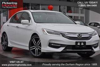 Used 2017 Honda Accord Sedan L4 Touring CVT for sale in Pickering, ON