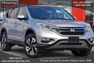 Used 2016 Honda CR-V Touring AWD for sale in Pickering, ON