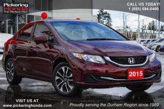 Used 2015 Honda Civic Sedan EX CVT for sale in Pickering, ON