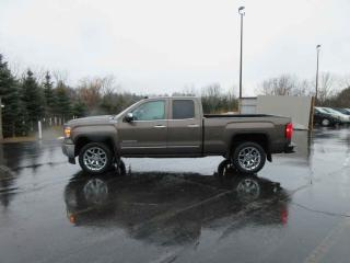 Used 2014 GMC SIERRA SLT DOUBLE CAB 4X4 for sale in Cayuga, ON